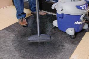 Mat floor grippy 91cm × 30m grey
