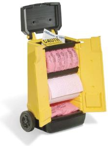 Mobile spill caddies, PIG®