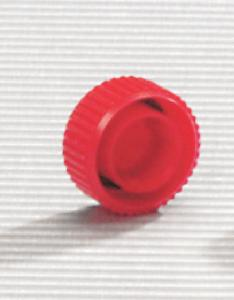 Screw caps for microcentrifuge tubes