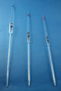 Bulb pipettes, class AS/class A